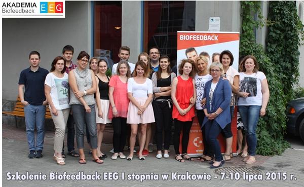 Zdjęcia ze szkolenia Biofeedback EEG w Krakowie