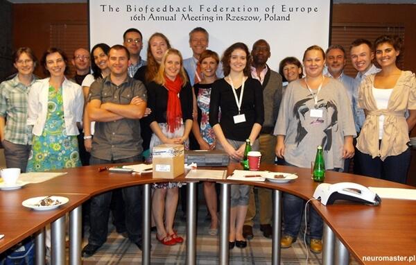 16th Meeting Biofeedback Federation of Europe w Rzeszowie