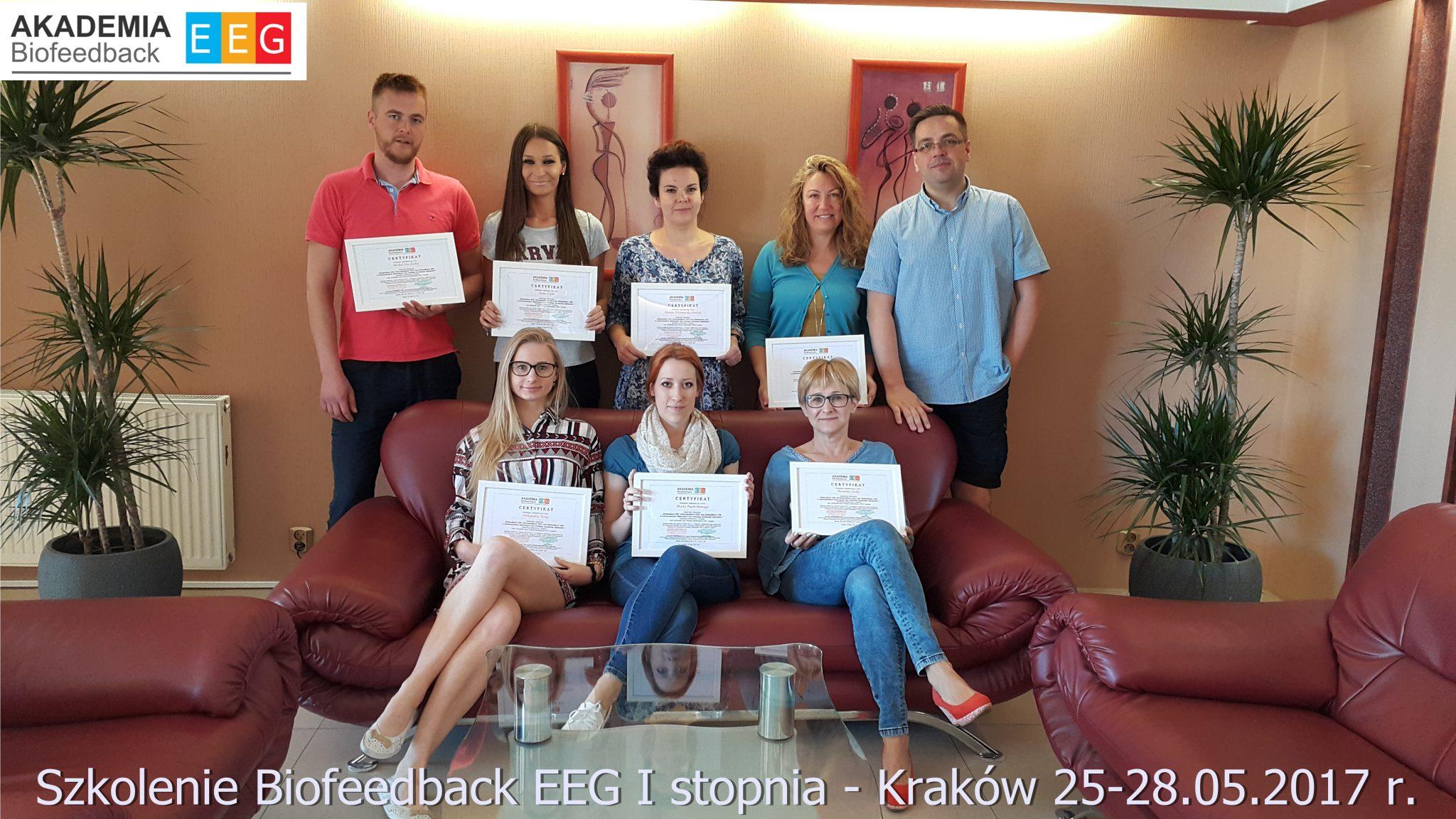 Szkolenie Biofeedback EEG I stopnia – Kraków 25-28.05.2017