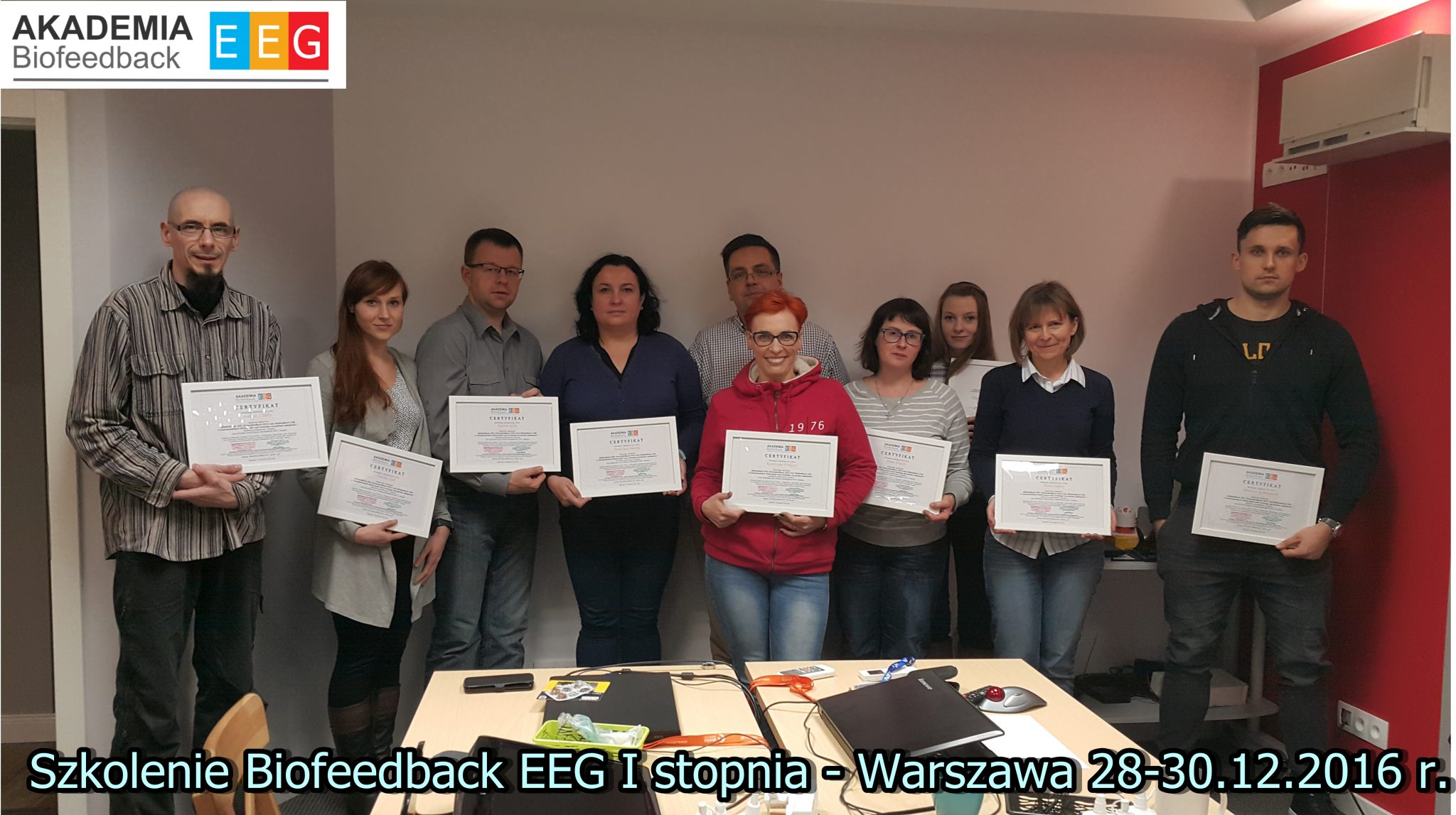 Szkolenie Biofeedback EEG I stopnia – Warszawa