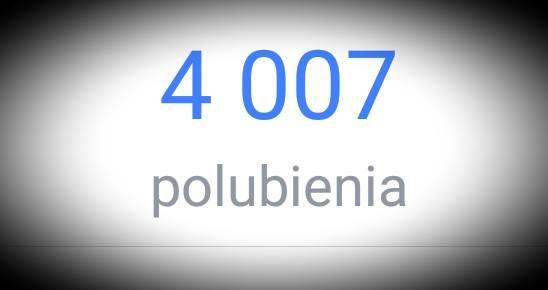 Już ponad 4000 osób polubiło naszą stronę.